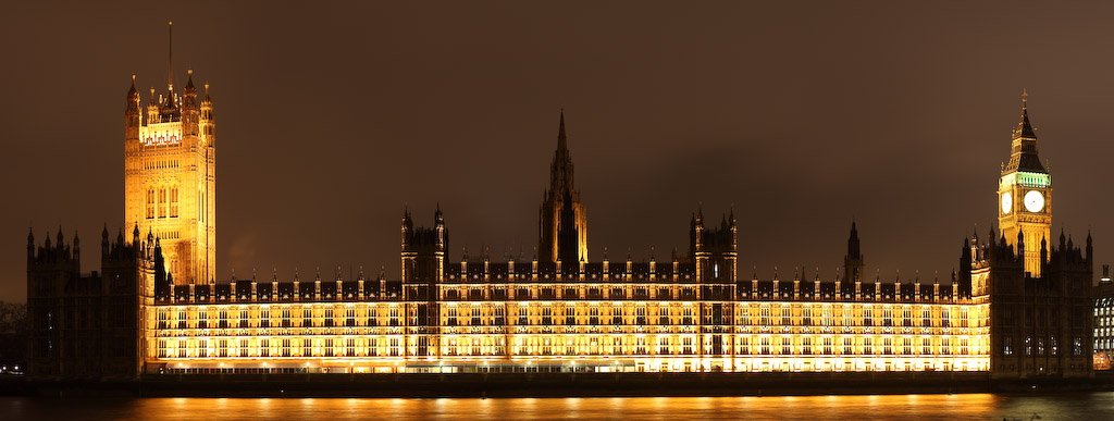 United Kingdom - London - Palace of Westminster and Big Ben